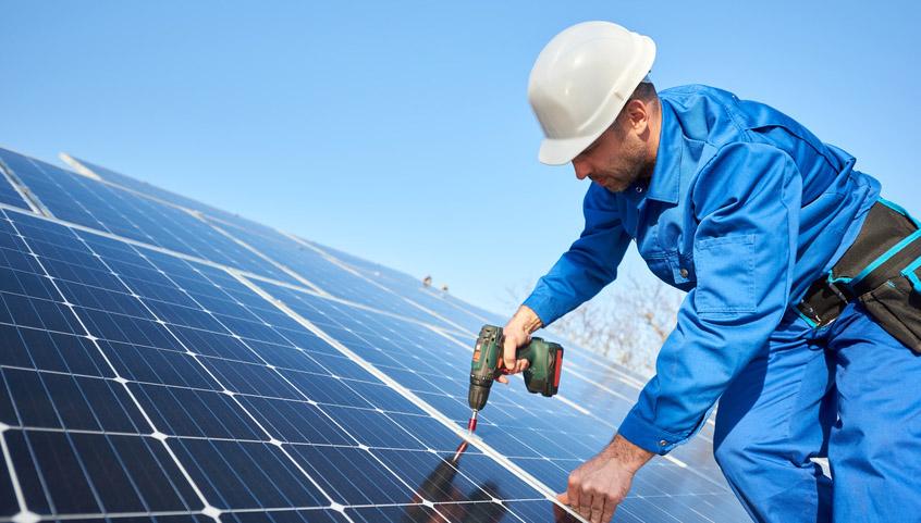 Panele słoneczne - montaż w Zawierciu